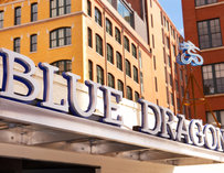 Blue Dragon Exterior--Boston
