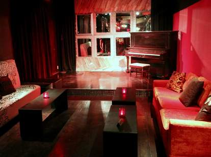 Interior of Sweet Saloon