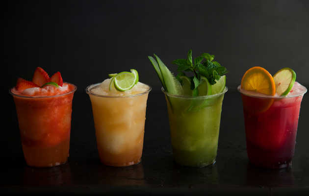 Micheladas and margaritas with your street food?
