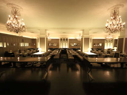 The dining room at Harlow