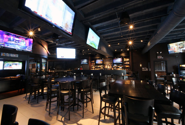An arena-sized sports bar