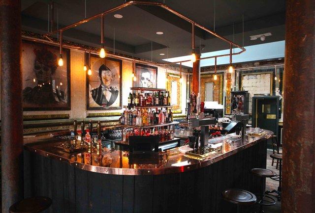 A Shoreditch boozer with a secret cocktail bar below...
