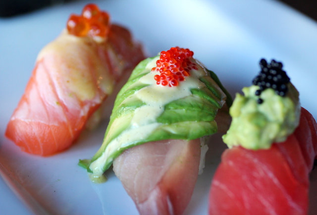 Inventive sushi and robata BBQ in Lakeview