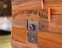 Speakeasy Tap Room-Press In Case Of Raid Sign-San Francisco