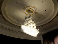 Hotel Monaco Light Fixture--Philadelphia