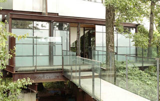 Modern Glass Tree House