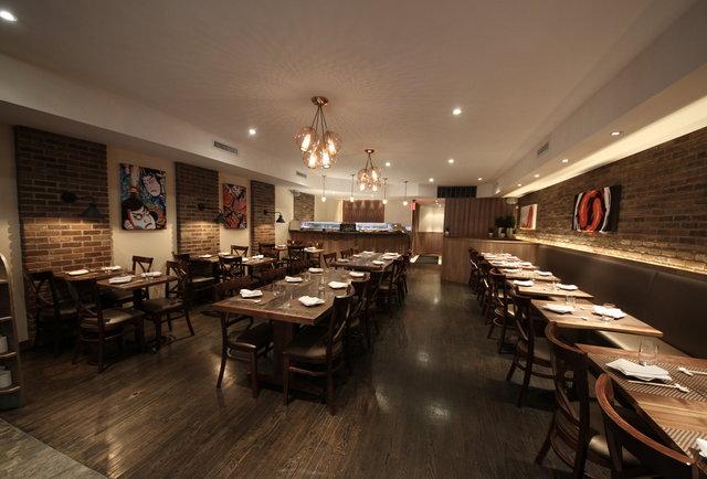 Flatiron\'s home of crazy sushi, bulgogi tacos, and guitar solos