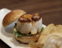 Scallop slider
