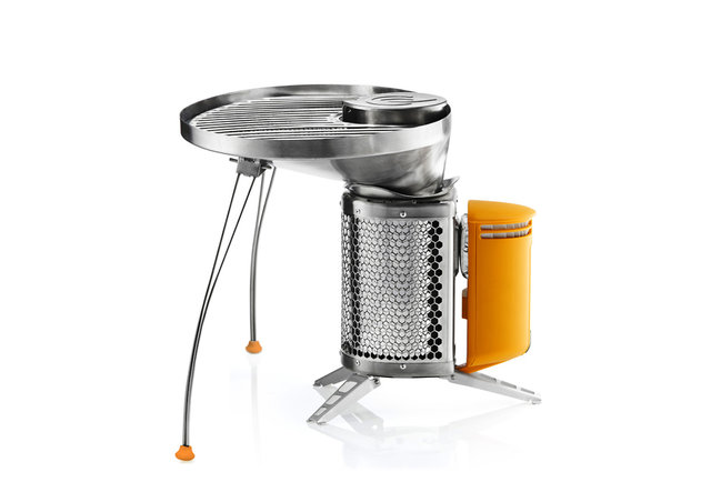 Beef up campfire cuisine with this lightweight rig