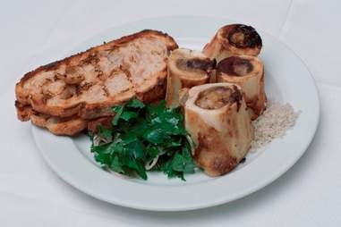 Bone marrow at St. John in London