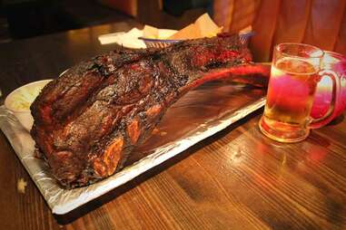 Dino Ribs at the Blues Kitchen in London