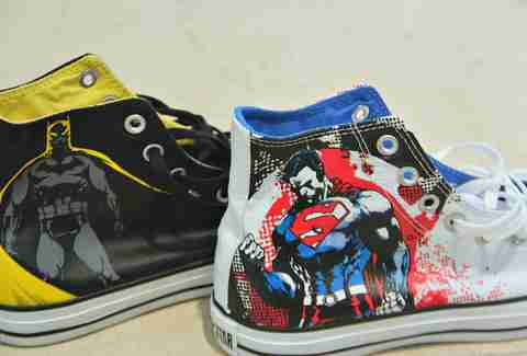 Batman and Superman sneaks