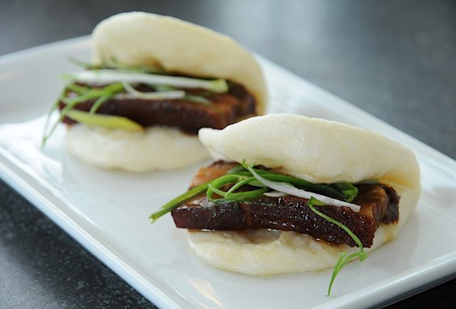 Upscale Chinese finger food in the Mission