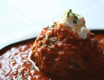Meatball at Andiamo Steakhouse in Las Vegas