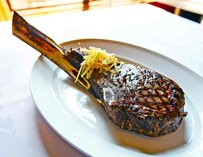 Steak at Andiamo Steakhouse in Las Vegas