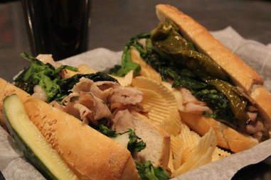 Sandwich from The Corner Foodery in Philadelphia