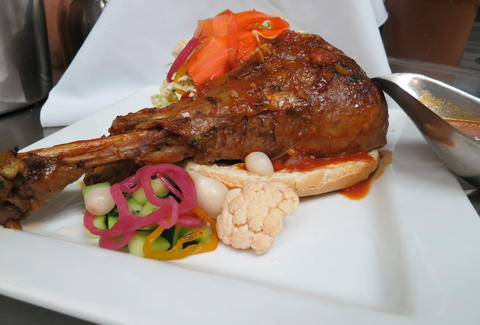 Corazan y Miel Cocina Latina y Bar-Chicken Leg-Los Angeles