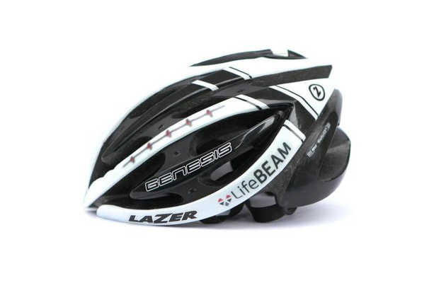 A bike helmet Maverick would wear