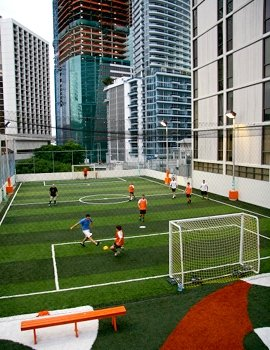 Soccer Rooftop Entertainment Thrillist Miami