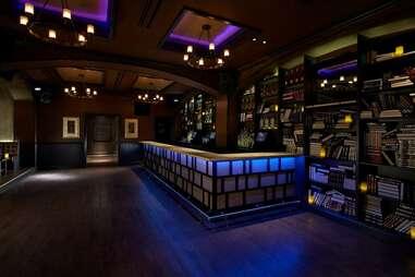 Inside The Huxley bar in Washington DC