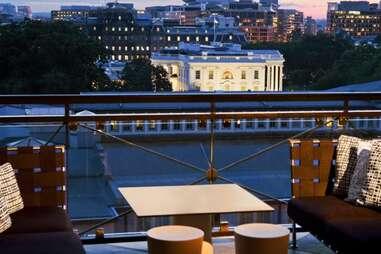 Washington DC's P.O.V. Lounge bar