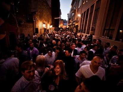 A crowded street