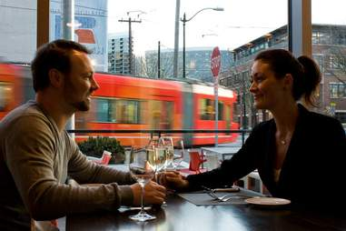 Diners at FLying Fish Seattle