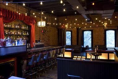 Inside Black Jack bar in Washington DC