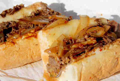 KAMI's Korean bulgogi beef cheesesteak