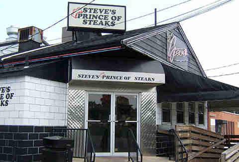 The exterior of Steve's Prince of Steaks