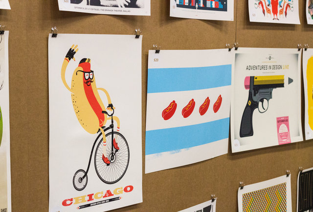 The coolest poster designers in the nation pimp their prints