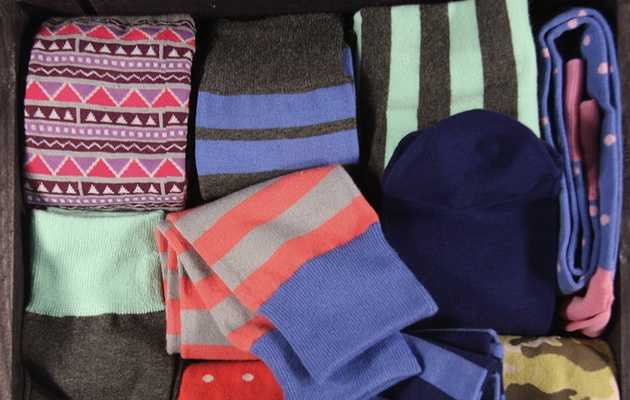 The secret to a winning sock drawer