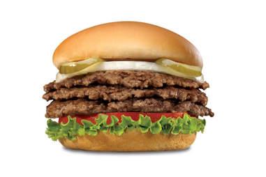 Steak N Shake Triple Steak Burger