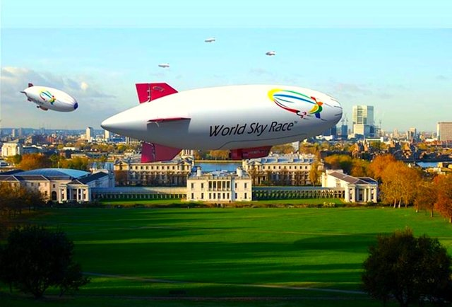 Zeppelins haul ass around the globe