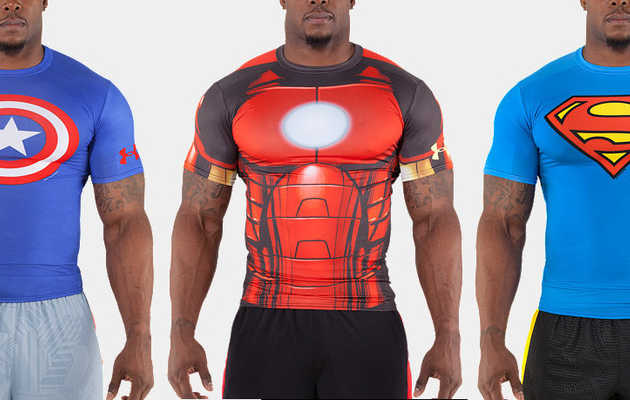 Superhero-worthy workout garb
