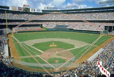 Angel Stadium-Baseball Field-Los Angeles