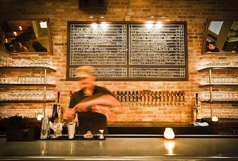 Craft Beer Bar Bangers and Lace in Chicago