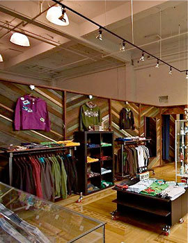 A flagship store for the \'toonish duds brand