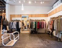 Clothes at Moss Consignment Store in Austin