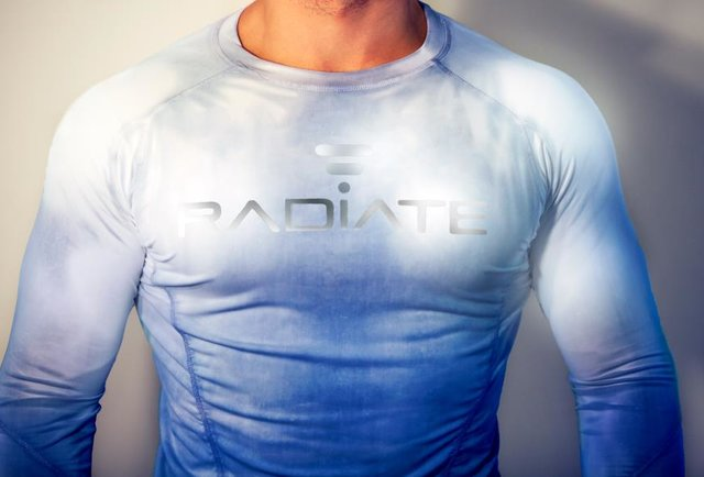Workout garb that changes color when you break a sweat