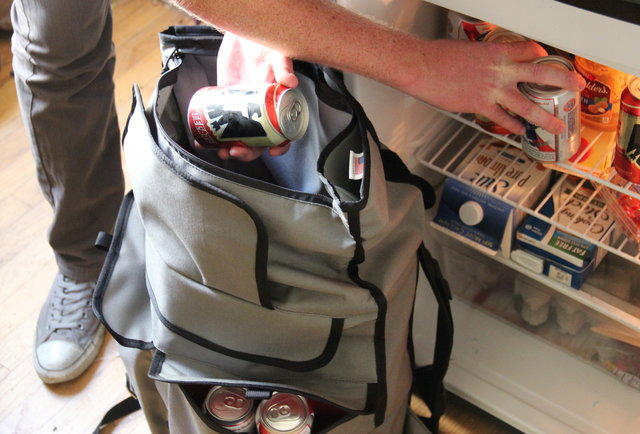 Because no one wants a bag that can only hold 23 beers