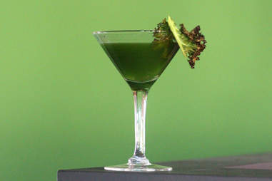 Cedar Point Bar & Kitchen's Kale Martini