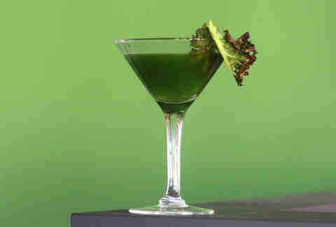 Cedar Point Bar & Kitchen's Kale Martini