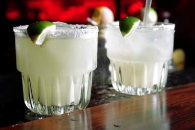 Margaritas at El Coyote