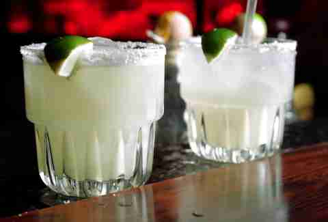 Margaritas at El Coyote