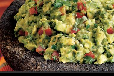 Guacamole at Ole Mexican Grill