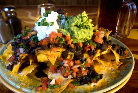 Nachos at the Matador
