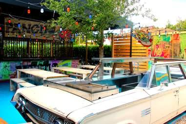 Exterior at Pancho Taco at Wood Tavern