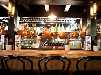 Bar at Antojeria La Popular