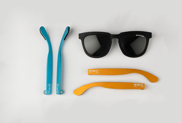 Shades that change style with the magic of magnets